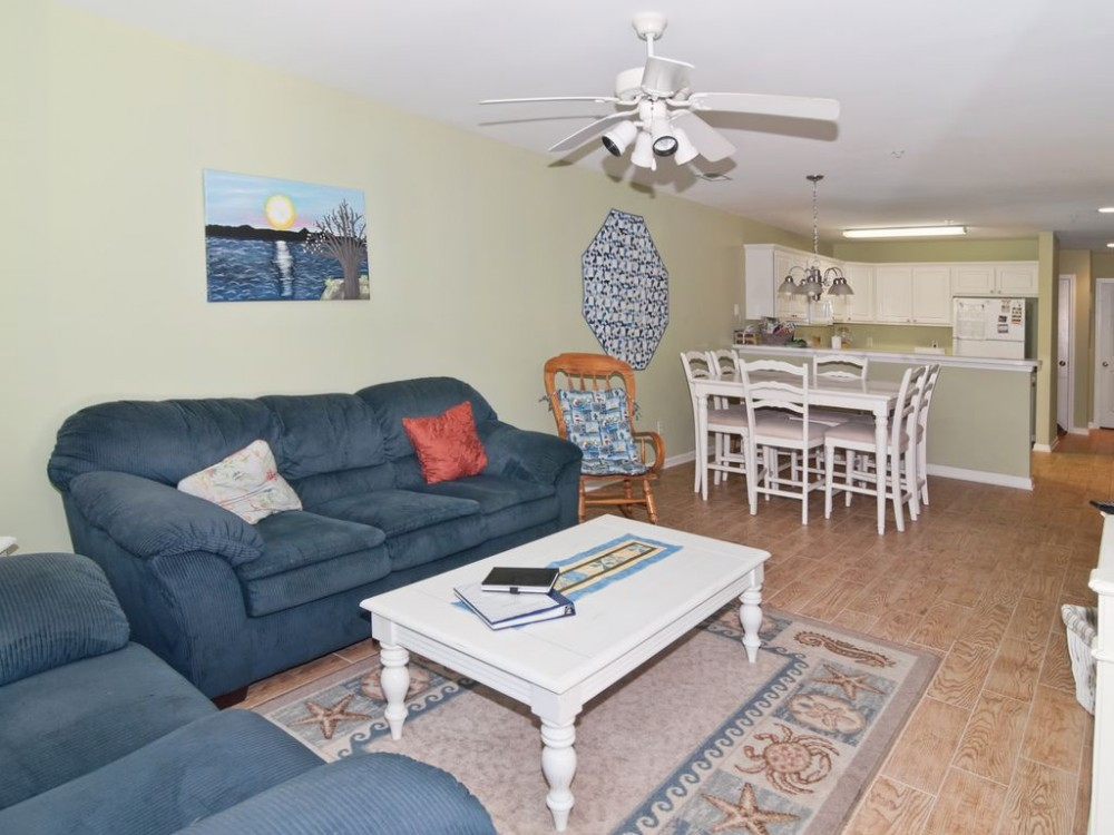 Pawleys Island vacation rental with Living room