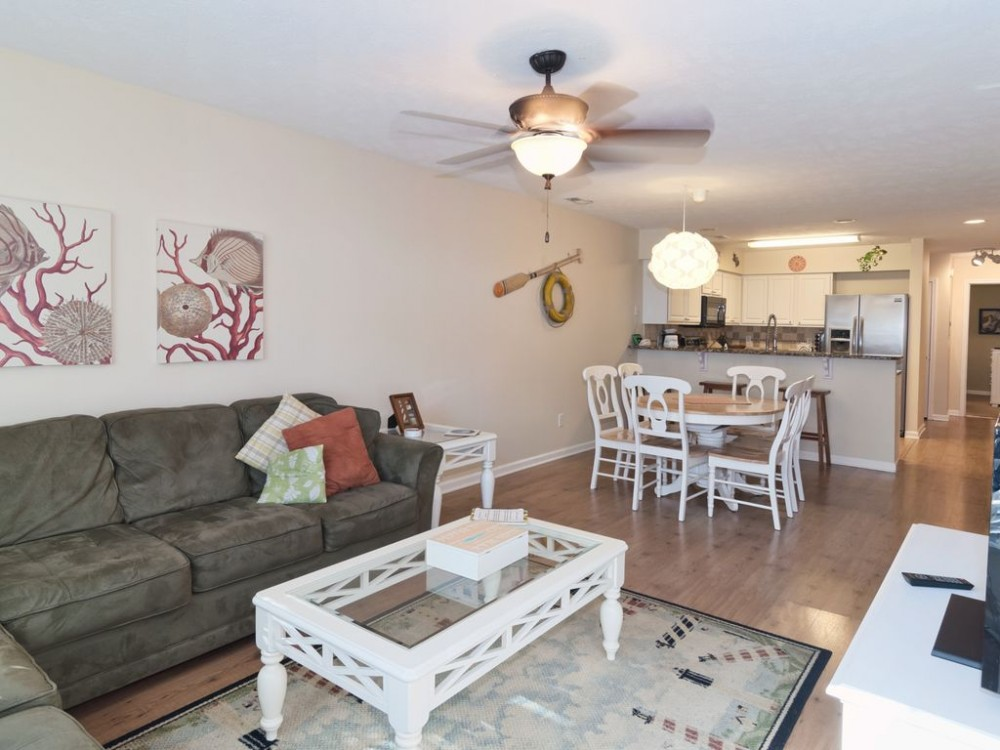 Pawleys Island vacation rental with Living Room, Dining Room, Kitchen
