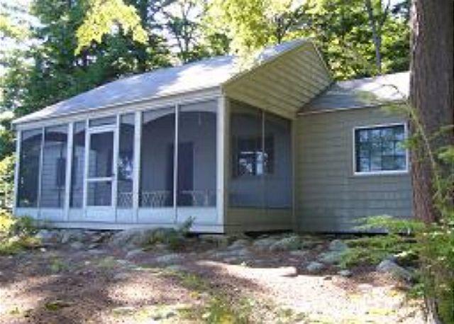 Lake Winnipesaukee charming Guest House vacation Property. (215)