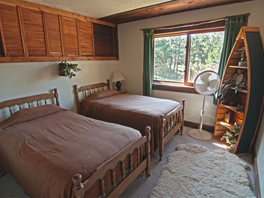 Twin beds  Airbnb Alternative Woodland Park Colorado Rentals