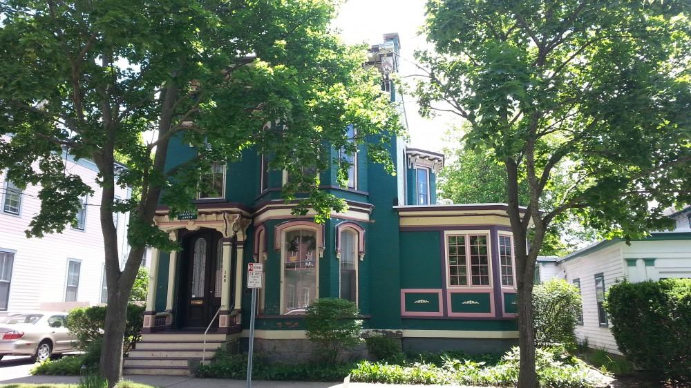 Saratoga Springs vacation rental with Restored Saratoga Skidmore Victorian House