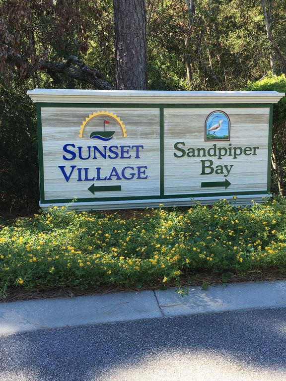 Sunset Beach vacation rental with 3 BR 2 Bath Condo.  Sandpiper Bay/ Sunset Villas