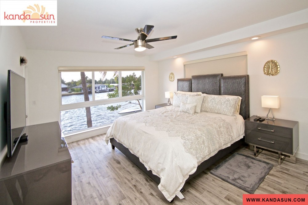 Pompano Beach vacation rental with Master suite with great water views