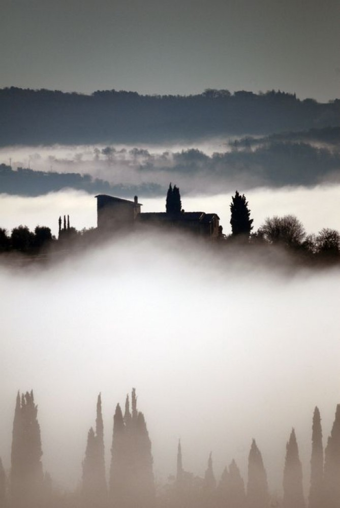 Castelnuovo Berardenga vacation rental with Club Montecchio - spectacular hilltop siting.