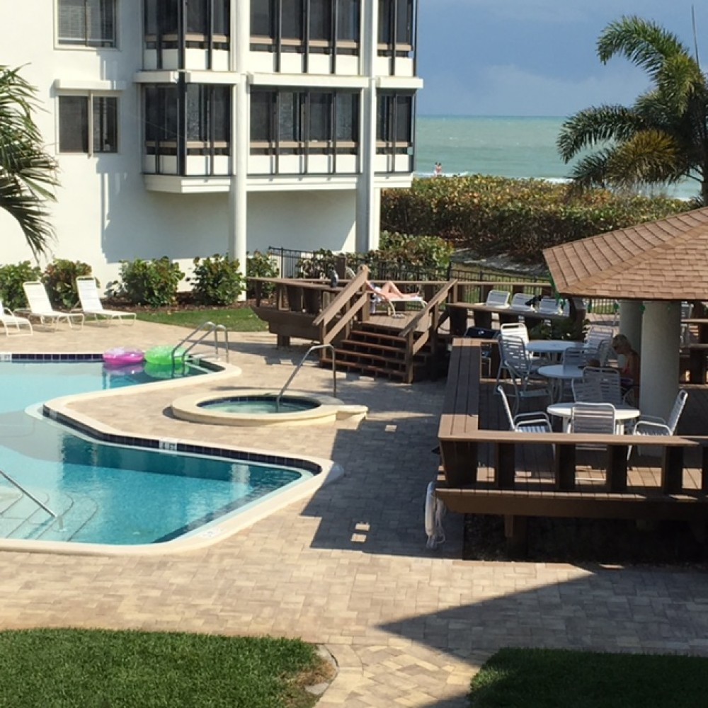 Sanibel vacation rental with Pool and Beach Front