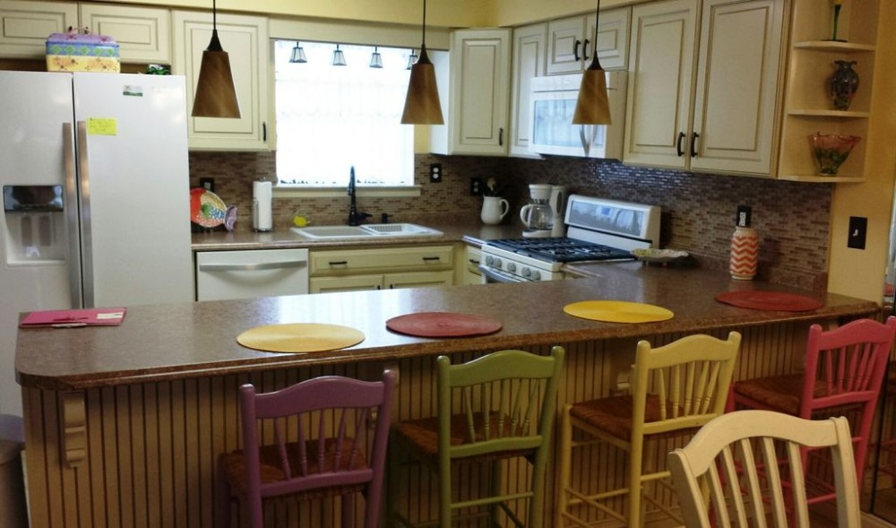 Panama City Beach vacation rental with Kitchen and Breakfast Bar