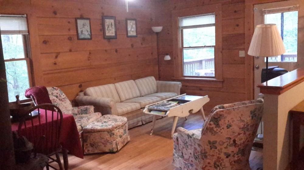 Saluda vacation Cabin rental