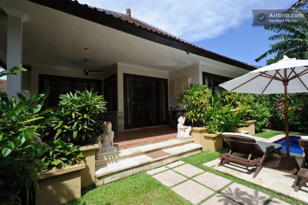 Bengaluru vacation rental with Front entrance Zen Villa Bali