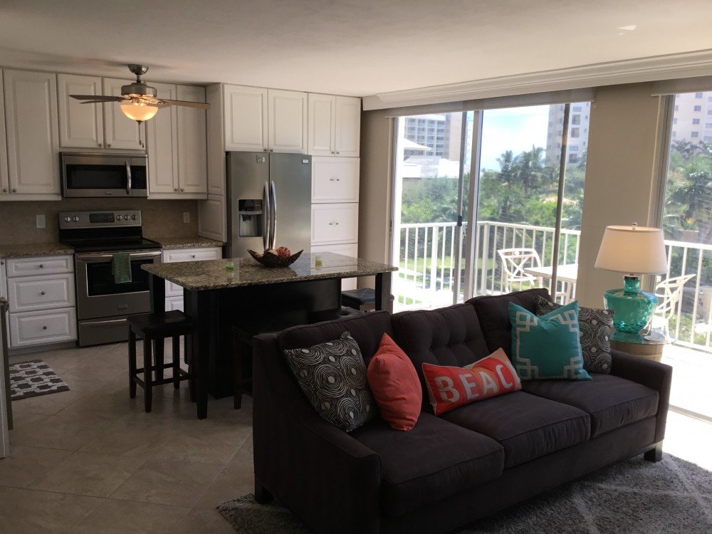 Marco Island vacation rental with Open concept living area