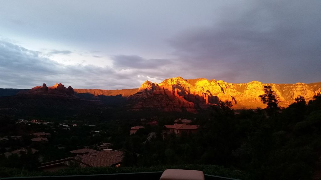 Famous View in Sedona....Snoopy Rock