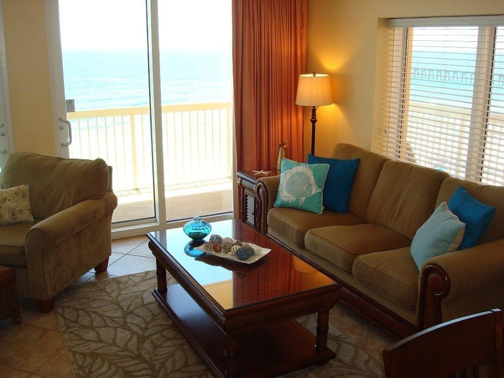 Panama City Beach vacation rental with Spacious Living Area w/ Access to Balcony