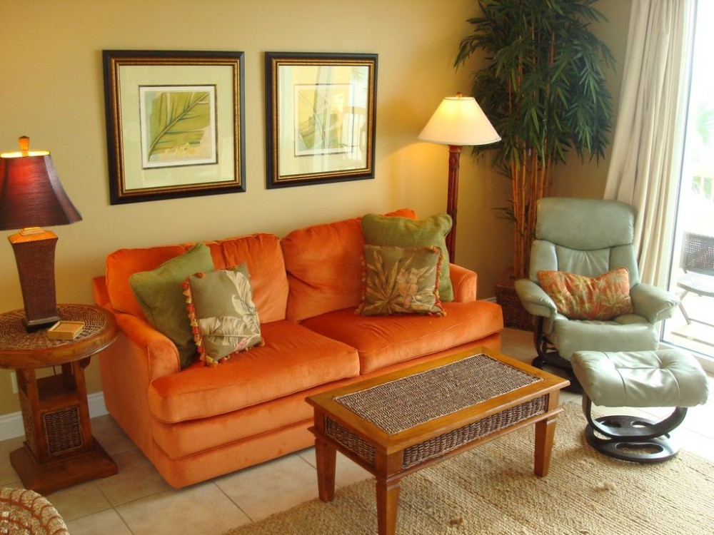 Panama City Beach vacation rental with Warm & inviting living area