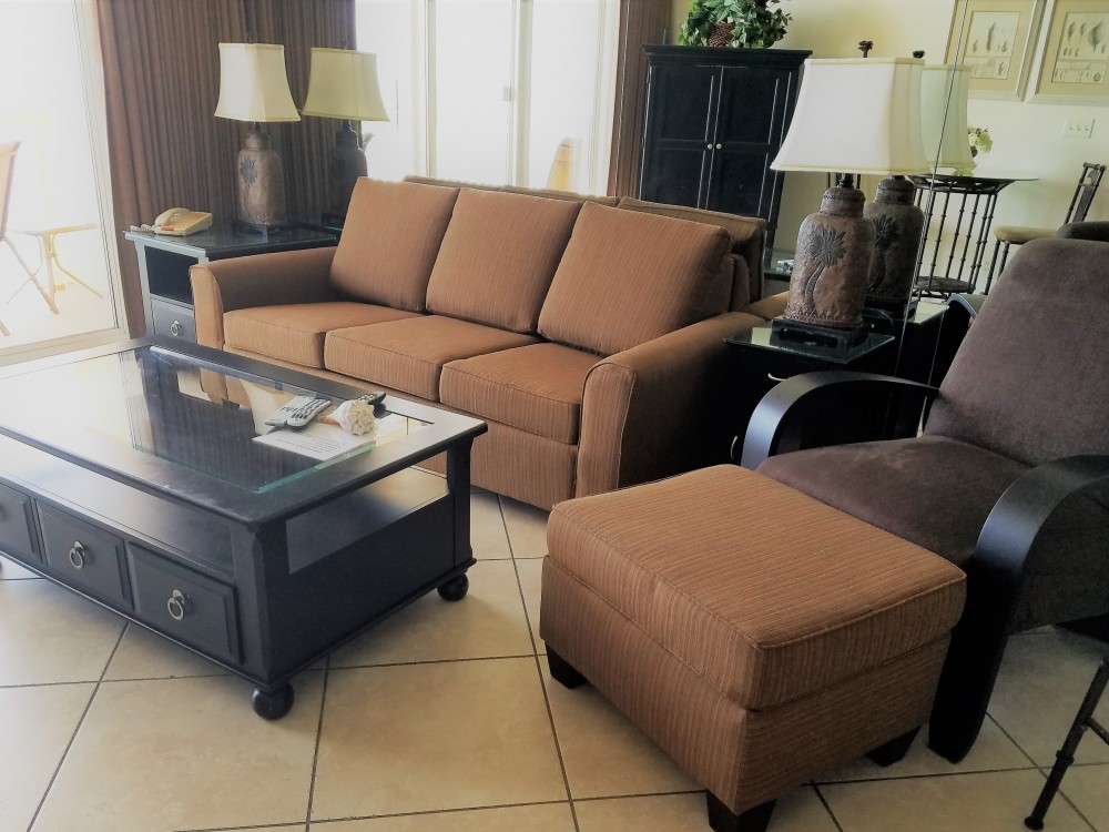 Panama City Beach vacation rental with Main Living Area