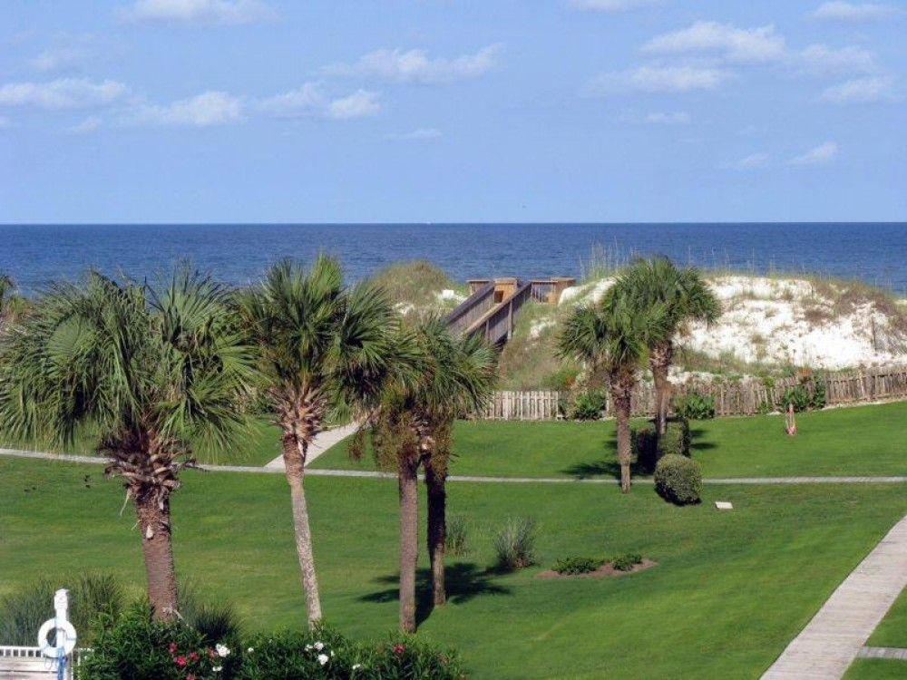 Cape San Blas vacation rental with Gulf view from the 3rd floor screened porch