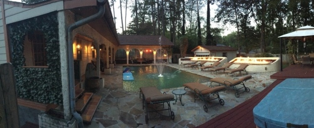 Atlanta vacation rental with BACKYARD OASIS