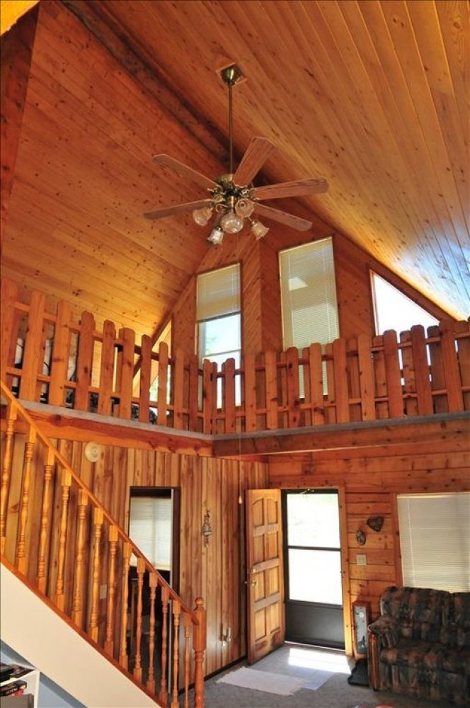 From the front door to the large loft. Airbnb Alternative Cripple Creek Colorado Rentals