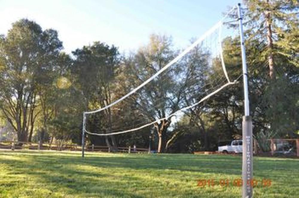 Riverstone Ranch outdoor games Airbnb Alternative Healdsburg California Rentals