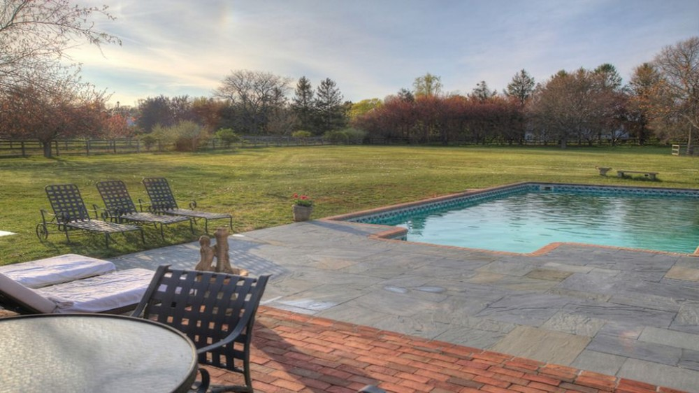 Southampton vacation rental with Back yard and pool