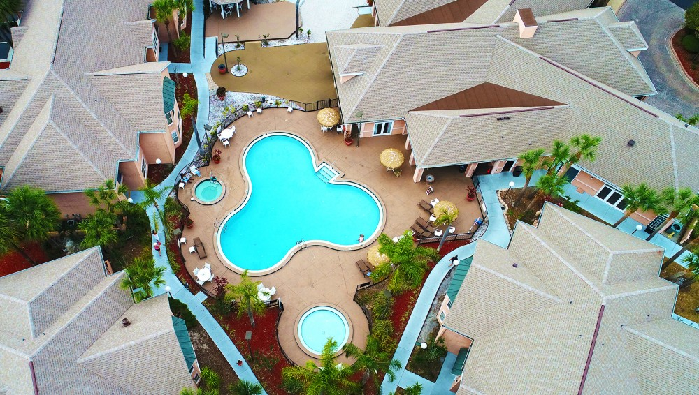 Kissimmee vacation rental with Disney Condo with Pool just outside door
