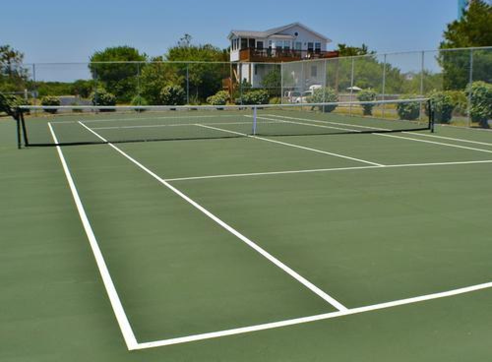 Tennis courts Corolla vacation home