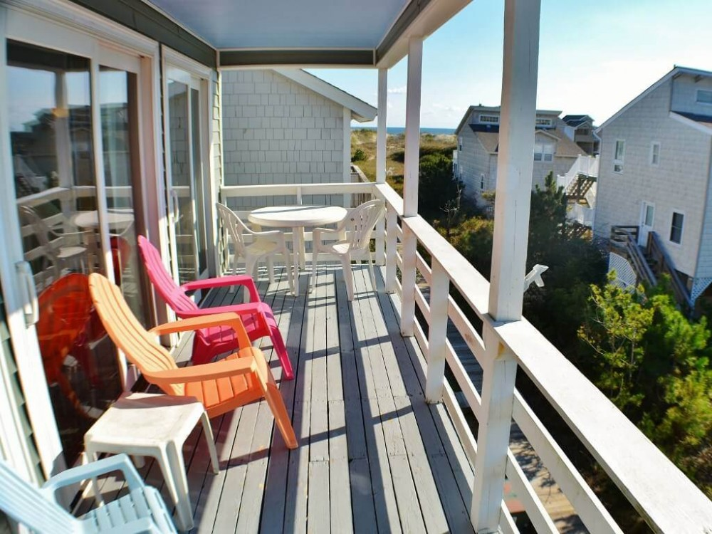 Corolla vacation rental with An ocean view