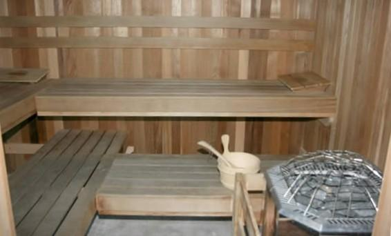 Sauna onsite Gulf Shores vacation home