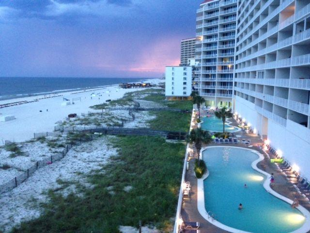 Two large Gulf front pools , one  zero entry. Airbnb Alternative Gulf Shores Alabama Rentals