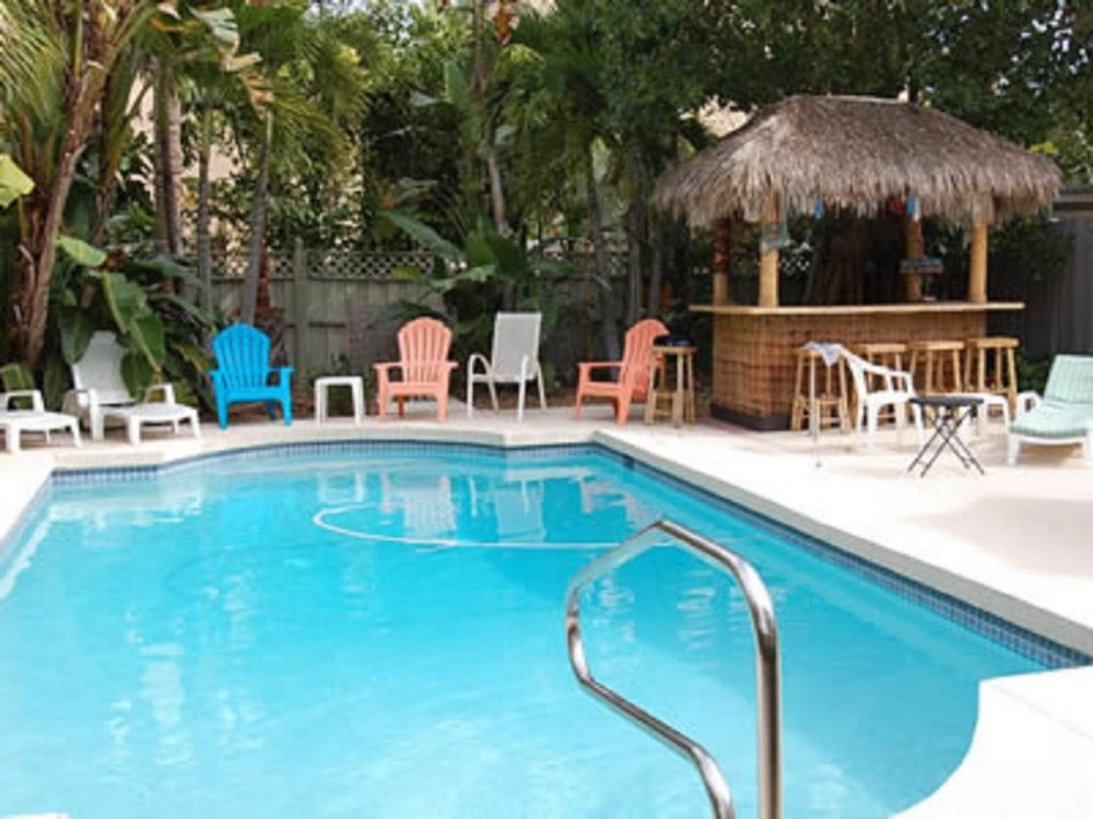 Siesta Key vacation rental with TIKI HUT