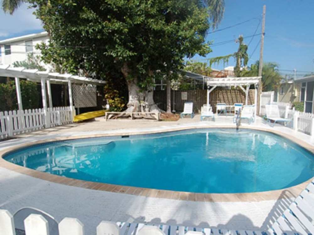 Siesta Key vacation rental with next to pool