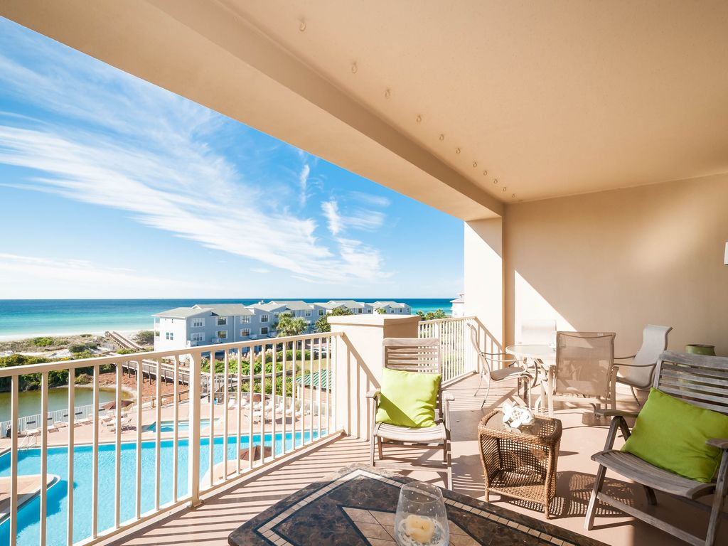 Top Floor 407*** Beach Service Included****New Furniture May, 2017*