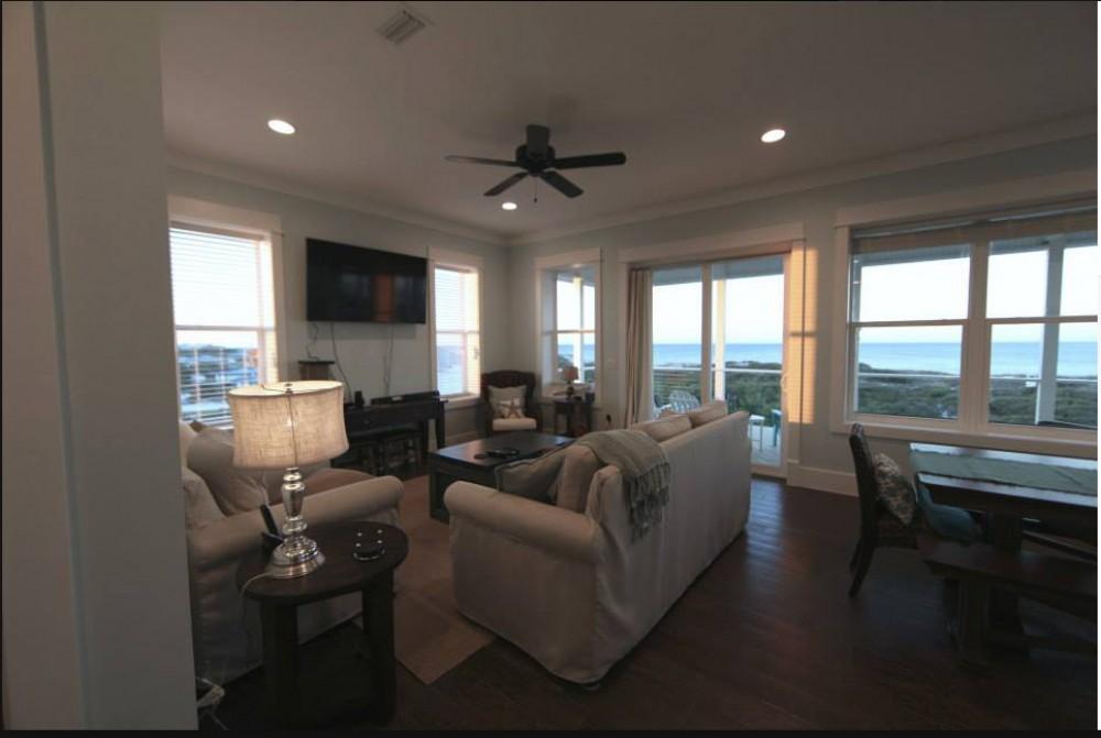 Port Saint Joe vacation rental with Living Room Views