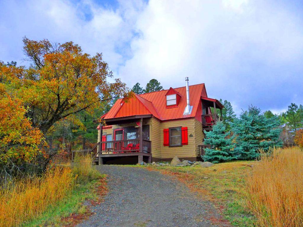 Log Cabin,Hot Tub,Frplc,Wifi,Views,Ski,Romantic