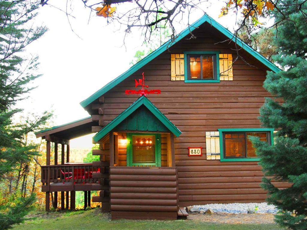 Log Cabin,Hot Tub,Ski,Frplc,Wifi,Views,King Beds, Romantic