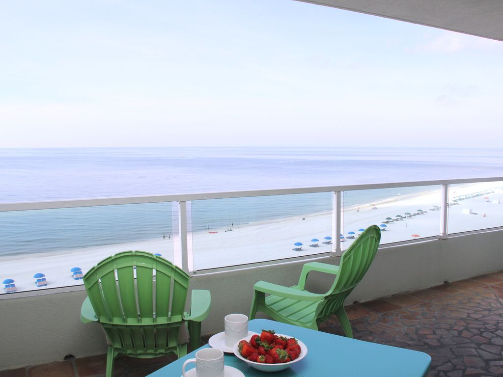Orange Beach, AL -2BR/2BA  * Silver Beach 803* Directly on th Beach, Top Floor, Best view!