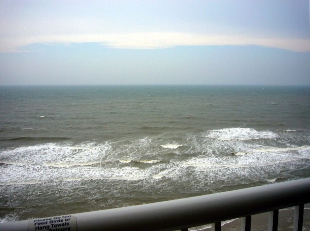 Myrtle Beach vacation rental with View from the Balcony