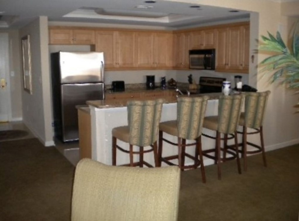 Myrtle Beach vacation rental with Kitchen  and Bar Area
