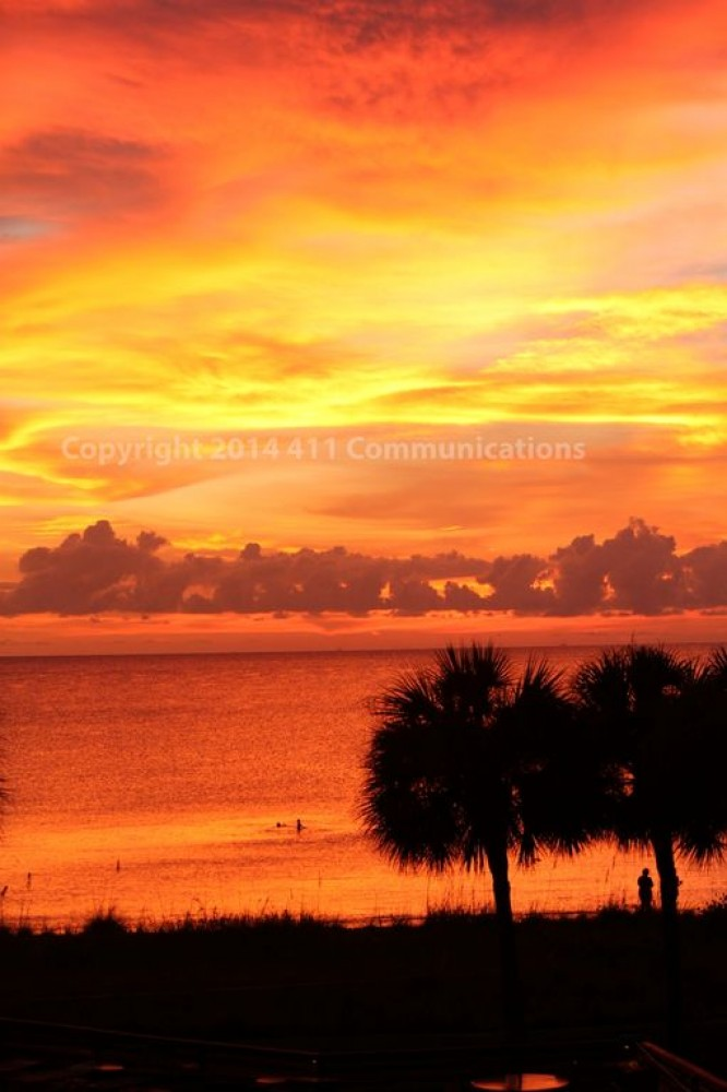 Indian Rocks Beach vacation rental with Sunset July 2016