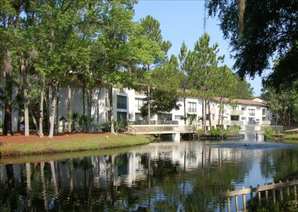 Hilton Head Island vacation rental with Complex surrounded by lagoons & wildlife