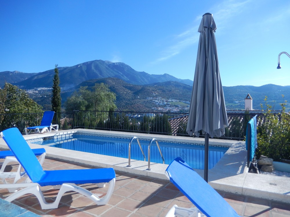 Vinuela vacation rental with