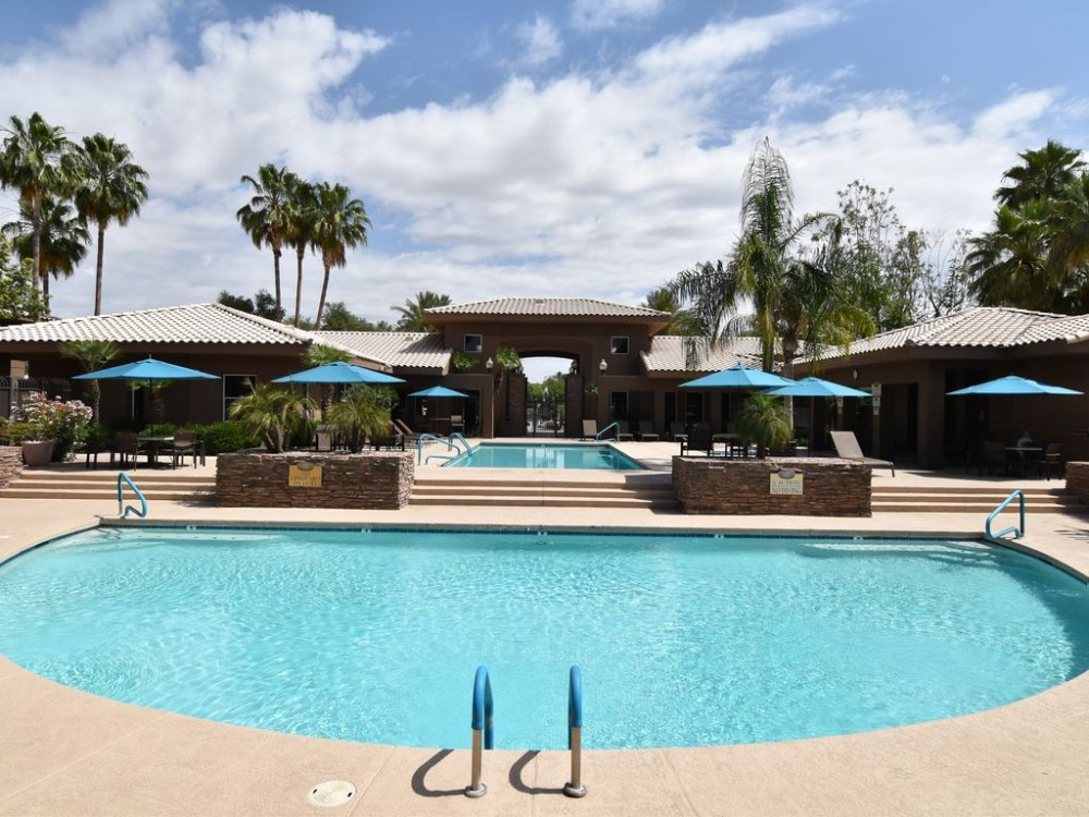 Scottsdale vacation rental with Pool area w/2 pools and a hot tub