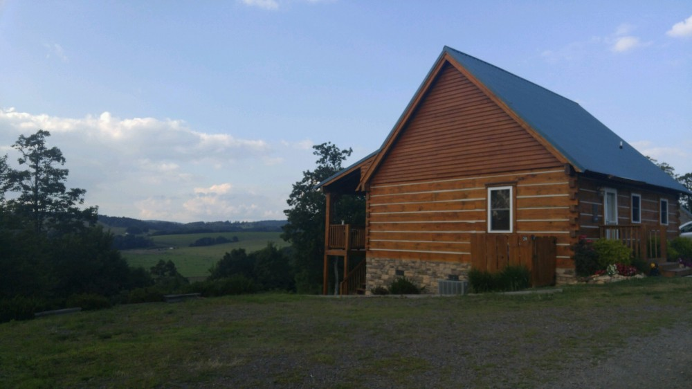 Meadows of Dan vacation rental with Exterior View of Cabin