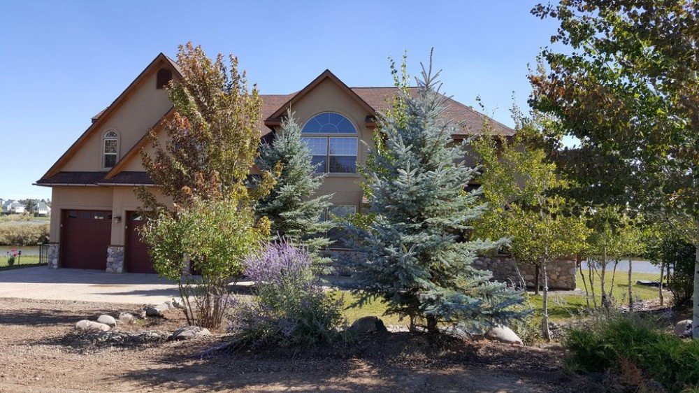 Pagosa Springs vacation rental with FRONT OF THE LUXURY NORTHBAY LAKE FRONT HOME