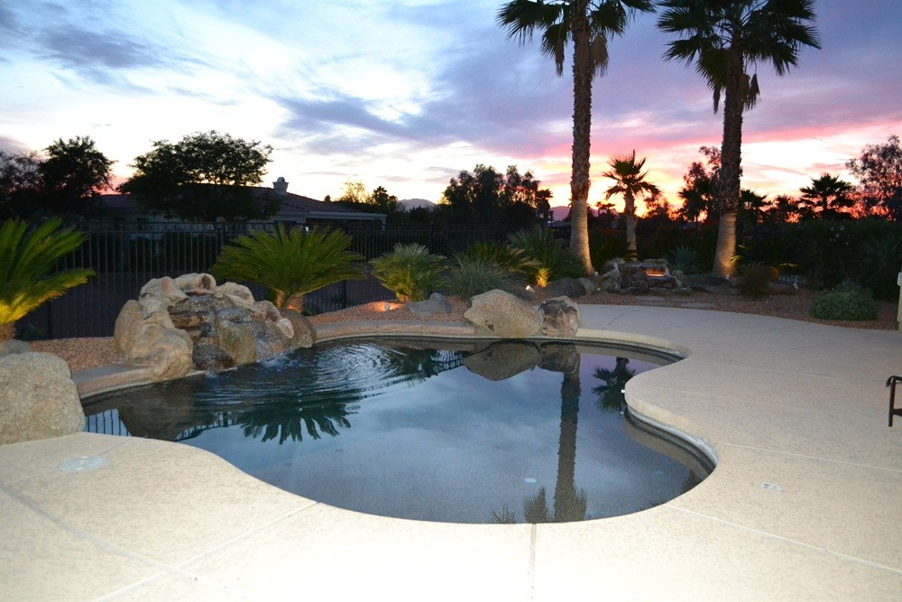Sun City West vacation rental with Western patio view