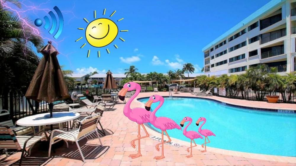Key Largo vacation rental with A Joyful Feel Good Vacation starts Here !