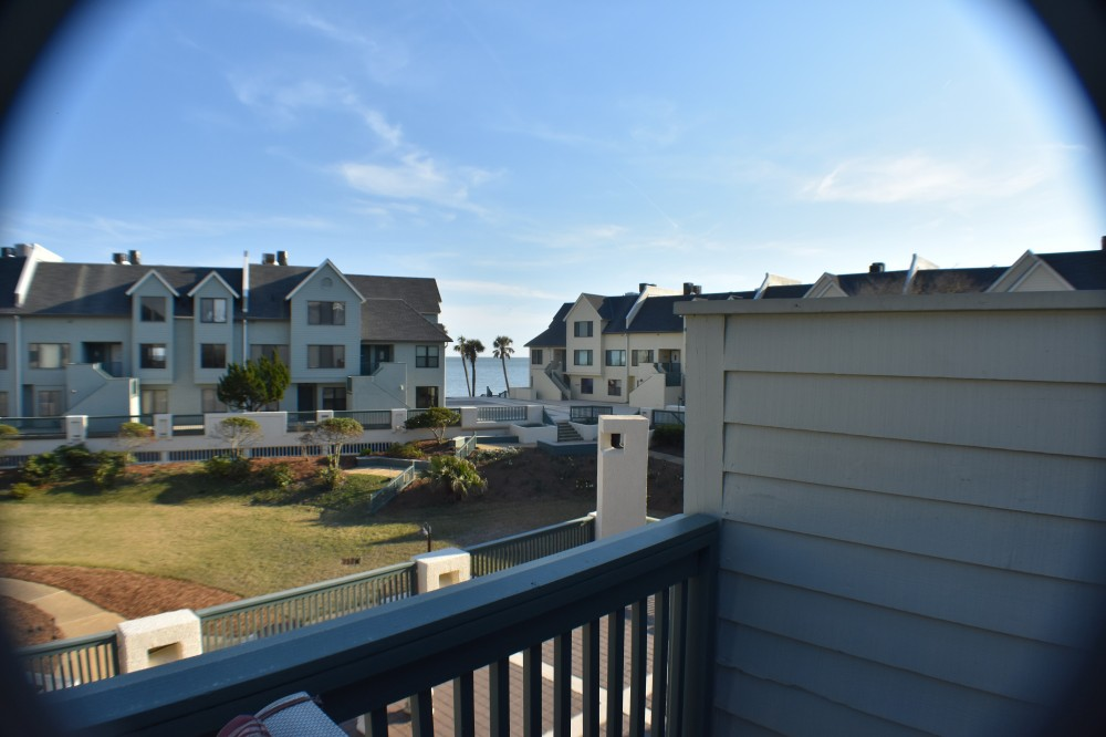 Fripp Island vacation rental with View from our deck