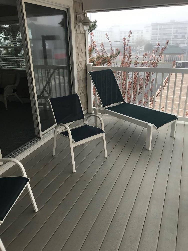 Deck  Ocean City vacation home