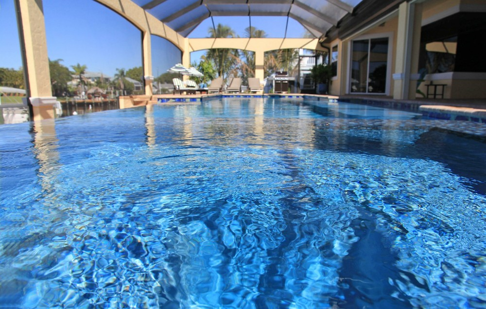 Cape Coral vacation rental with Infinity Pool and Spa