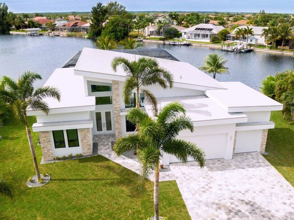 Cape Coral vacation rental with Smart Coral -  Aerial
