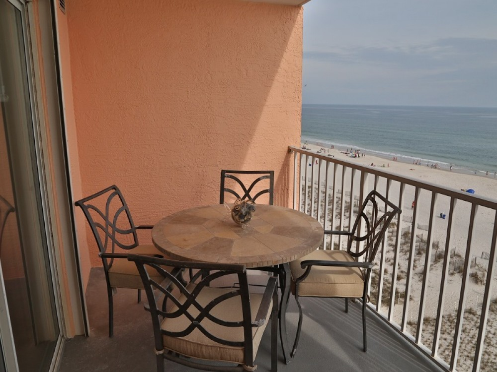 Gulf Shores vacation rental with Private Gulf Front Balcony