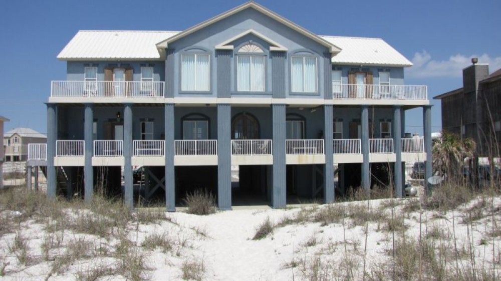 Gulf Shores vacation rental with Blue Atlantis Home from the Beach